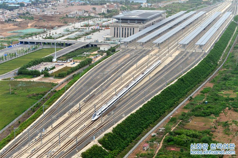 바오란(寶蘭) 고속철도 개통 운영