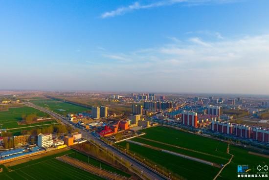 [드론 촬영] 중공중앙+국무원서 지정한 新區, 하북성 슝안신구
