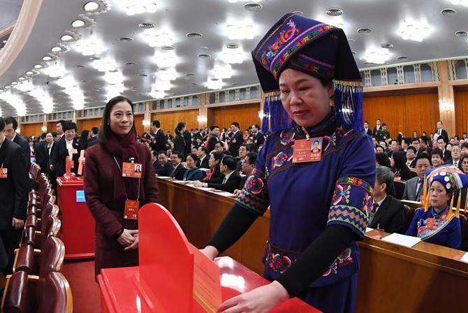 (两会)(2)十三届全国人大一次会议举行第三次全体会议