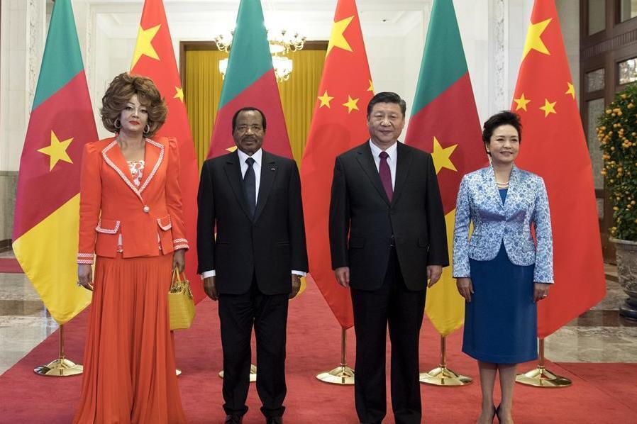 (时政)习近平同喀麦隆总统比亚举行会谈