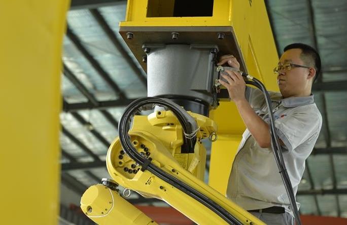 로봇 제조, 경제 전환과 업그레이드에 일조