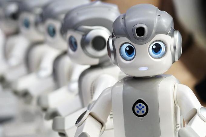 국제로봇박람회에 등장한 신기한 로봇들