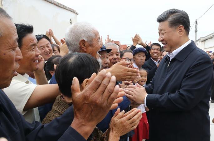 시진핑, 간쑤서 시찰