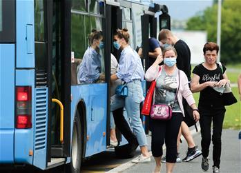 크로아티아: 대중교통 마스크 착용 의무화