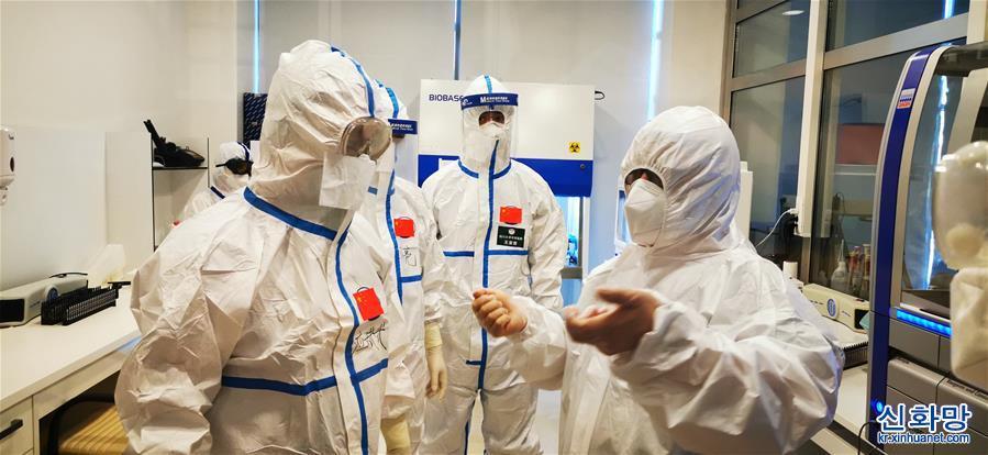 중국 방역 의료 전문가팀 아제르바이잔 일선서 업무 진행
