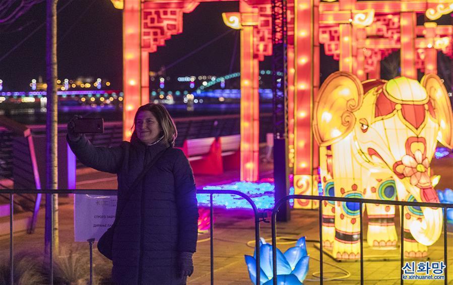 세르비아, 중국 춘제 축하 유등축제 열려