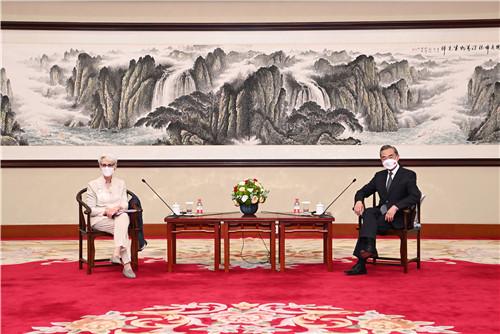 왕이, 중미 관계에 대한 중국의 3대 마지노선 제시